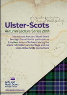 Ulster-Scots Autumn Lecture Series 2017 image