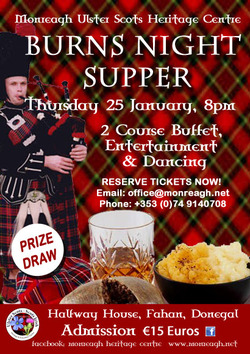Burns Supper - Halfway House, Burnfoot picture