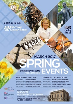 Spring Events at the Discover Ulster Scots Centre picture