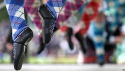 Heart of Down Highland Dancers - Competition picture