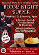 Burns Supper - Halfway House, Burnfoot
