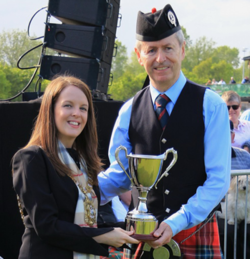 Local Bands lead at UK Pipe Band Championships 2017  picture