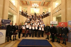 Presentation of Certificates at Stormont picture
